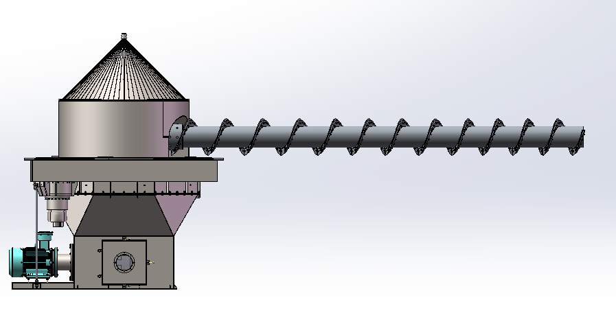 cantilever discharge machine